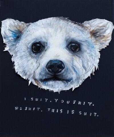 Herakut, 'I Shit', 2013