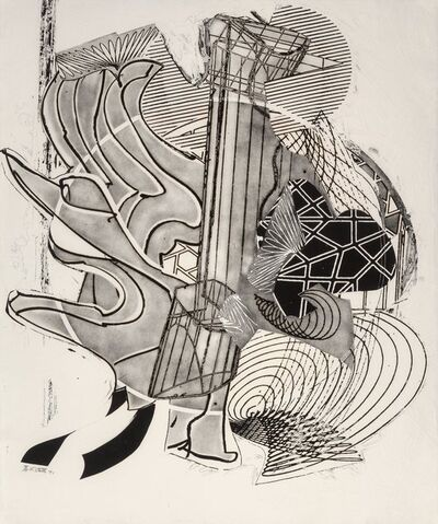Frank Stella, 'The Fossil Whale', 1991