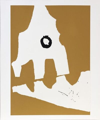 Robert Motherwell, 'Untitled from Ten Works by Ten Painters portfolio', 1964
