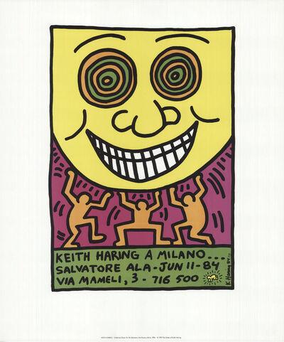 Keith Haring, 'A Milano', 1984/1992