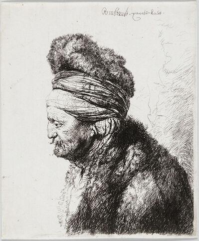 Rembrandt van Rijn, 'The Second Oriental Head', ca. 1635