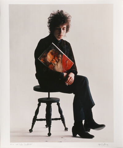 "Jerry Schatzberg, 'Bob Dylan ""Greatest Hits""', 1965 (Later printing)"