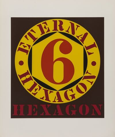 Robert Indiana, 'External Hexagon (Sheehan 33) (from Ten Works by Ten Painters)', 1964