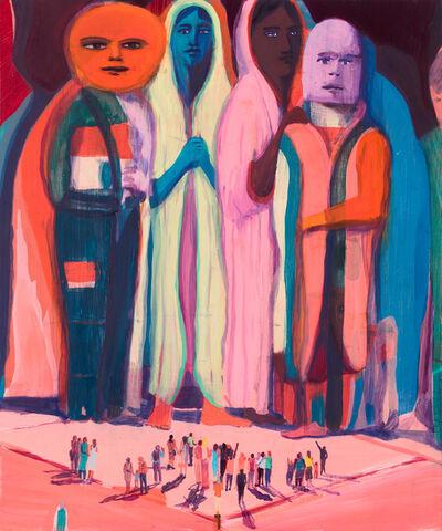 Jules de Balincourt, 'Big Little Monsters', 2017