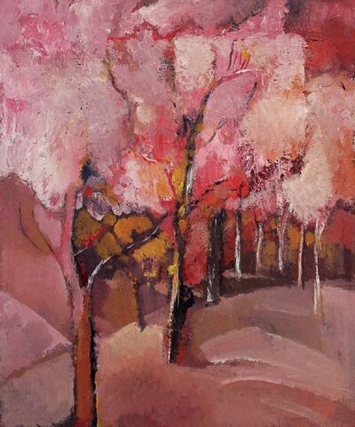 Mikhail Turovsky, 'Pink Landscape', 2000