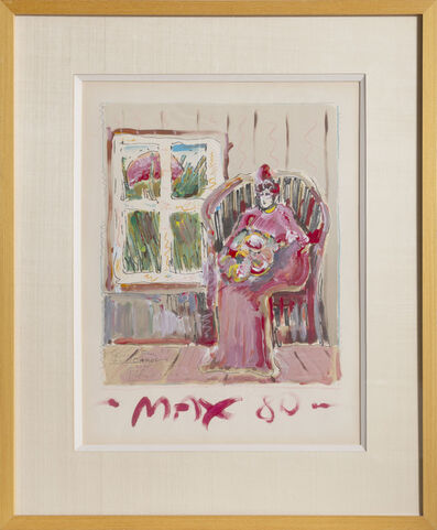 Peter Max, 'Woman Seated', 1980