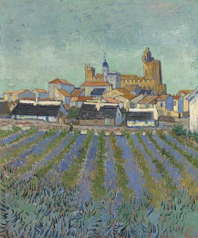Vincent van Gogh, 'View of Saintes-Maries-de-la-Mer', 1888