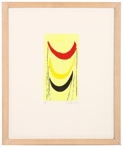 Sir Terry Frost, 'Red, yellow, black', 1990