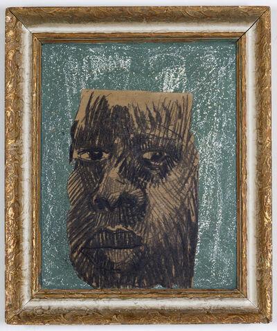 Ronald Muchatuta, 'Brown face II', 2020