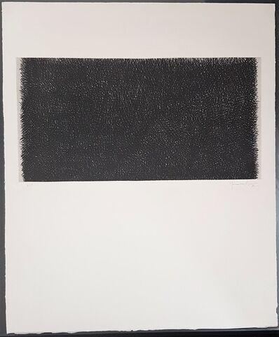 Joan Hernández Pijuan, 'Gestural, Abstract, Composition (Composición, in Black Spain, Catalonia)', 1980