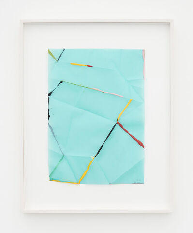 Beat Zoderer, 'Fold & Dip', 2018