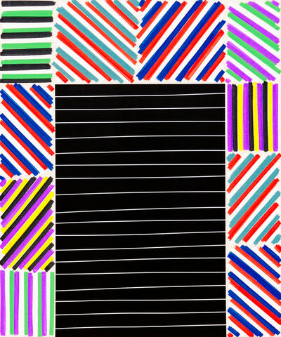 Bradley Harms, 'The Elegant Mess (Black Bars)', 2016