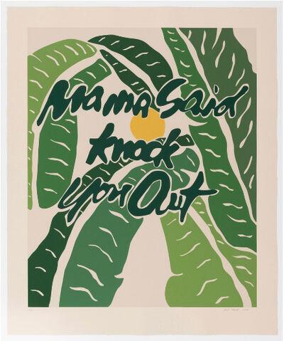 Joel Mesler, 'Mama Said Knock You Out', 2018