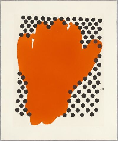 Humphrey Ocean, 'Red Hand', 2006