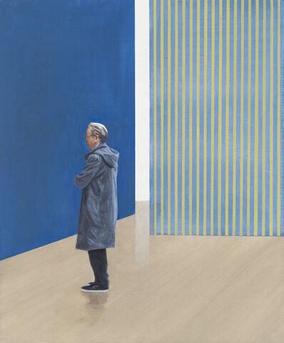Tim Eitel, 'Blue Walls (Stripes)', 2019