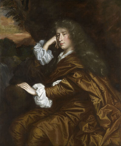 Studio of John Michael Wright, 'Sir Willoughby Aston as a young man, 2nd Bt. (1640 – 1702), of Aston Hall, Aston-by-Sutton, Cheshire', ca. 1660