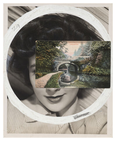 John Stezaker, 'Mask (Film Portrait Collage) CLXXXIII', 2015