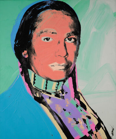 Andy Warhol, 'The American Indian (Russell Means)', 1976