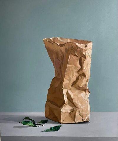 Tritan Braho, 'Paper Bag/Leaves', 2021
