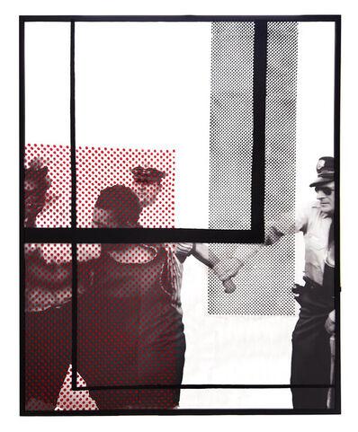 Hank Willis Thomas, 'Woman Biting Cop', 2018