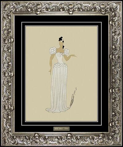 Erté (Romain de Tirtoff), 'Un Doigt de Couer  Chanteuse', 20th Century