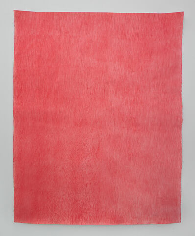 Mohammed Kazem, 'Acrylic on Scratched Paper', 2020