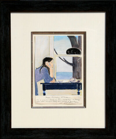 Will Barnet, 'Spirit of Youth', circa 1980