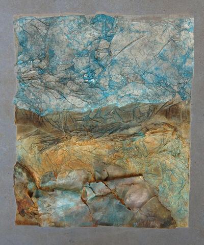 Zad Moultaka, 'Come in terra V, mixed media on paper, 76 x 89 cm ', 2014