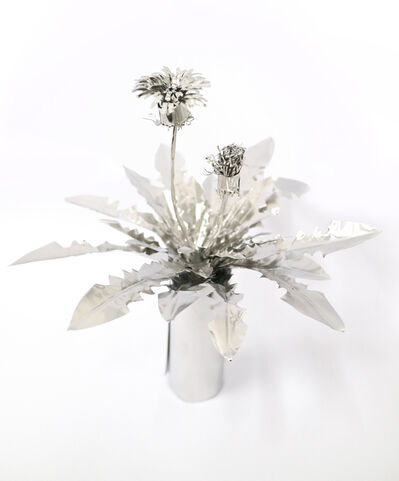 Toshihiko Mitsuya, 'Dandelion with flower', 2017