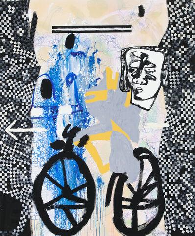 Charline von Heyl, 'Bicycle Thief', 2018