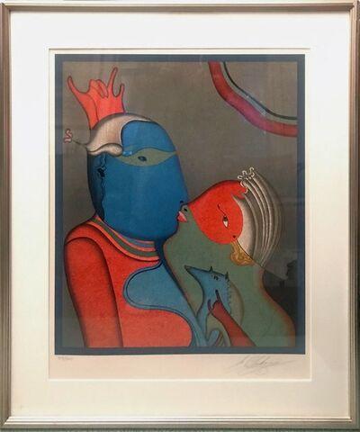 Mihail Chemiakin, 'The Anonymous Kiss', ca. 1985