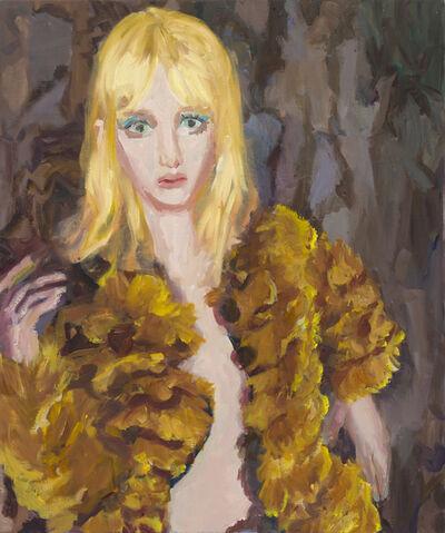 Janet Werner, 'Blonde in Fur', 2019