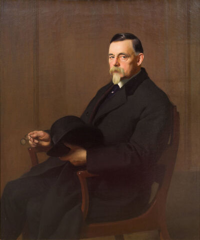 William McGregor Paxton, 'Portrait of James Paxton, the Artist's Father', 1906