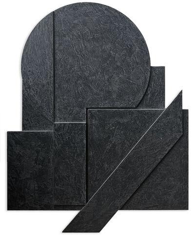 Stanislav Kolibal, 'Černý reliéf (schwarzes Relief)', 2020