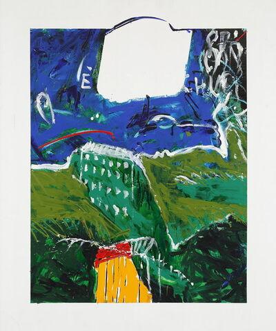 Mario Schifano, 'E' Casa Vecchia', 1991