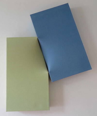 Nobuko Watanabe, 'Blue and Olive green', 2012