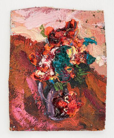 Jorge Diezma, 'Red flowers', 2019