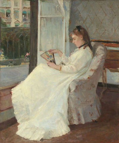 Berthe Morisot, 'The Artist's Sister at a Window', 1869