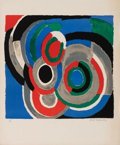 Sonia Delaunay, 'Hommage à Stravinsky ', 1970