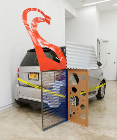 Jessica Stockholder, 'Assist #1 A Cyst', 2015