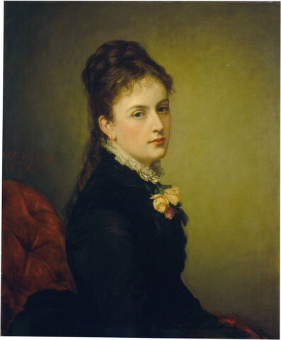 George P. A. Healy, 'Roxana Atwater Wentworth', 1876