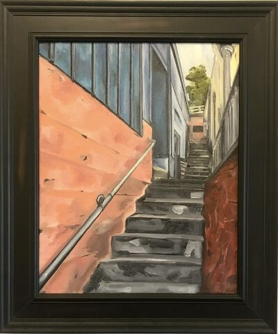 Lucky Omolo, 'The Alley on the Hill', 2019