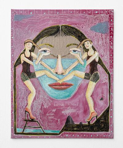 Marlene Steyn, 'Below, a head for tear-fish', 2018