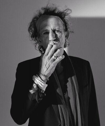 Lorenzo Agius, 'Keith Richards', 2008