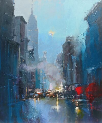 Peter Wileman, 'Evening Falls, New York', 2019