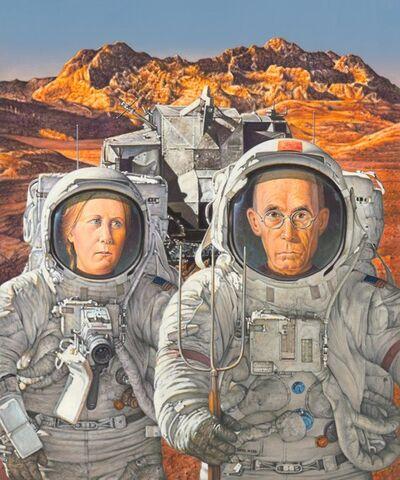 Doug Webb, 'Martian Gothic', 2021
