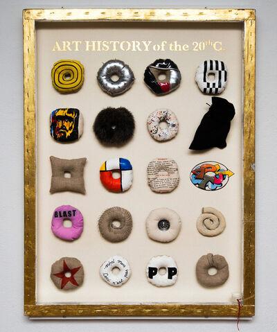 Jann Haworth, 'Art History of the 20th C.', 2008-2009