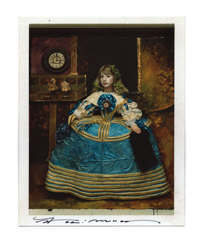 """Yasumasa Morimura 森村 泰昌, 'Blue Dress at Three in the Afternoon - From """" Daughter of art history """"', 1989"""