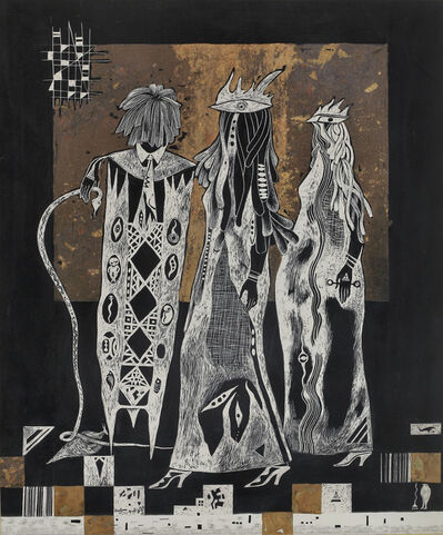 "Mohammed Al Wahibi, '""Shared Conversation""حديث مشترك', 2008"