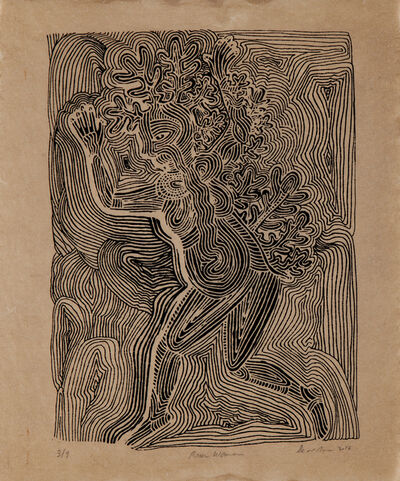 Andrea Dezsö, 'Tree Woman #2', 2016